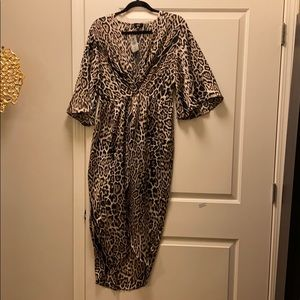 SAKS 5th Ave Brand - Lucca Leopard Dress